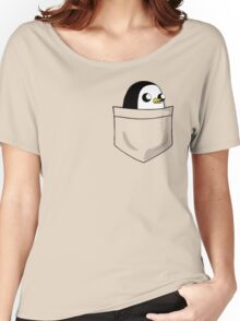 There's an evil penguin in my pocket! Women's Relaxed Fit T-Shirt