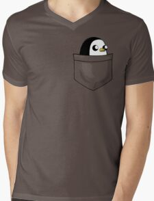 There's an evil penguin in my pocket! Mens V-Neck T-Shirt