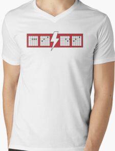 ACDC Chords Funny Mens V-Neck T-Shirt