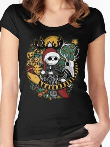 Jack's Christmas Plan Women's Fitted Scoop T-Shirt