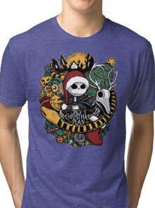 Jack's Christmas Plan Tri-blend T-Shirt