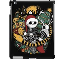 Jack's Christmas Plan iPad Case/Skin