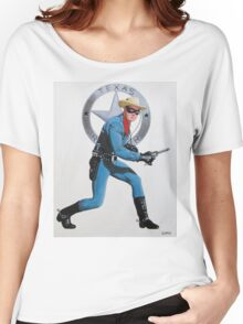 LONE RANGER CLAYTON MOORE Women's Relaxed Fit T-Shirt