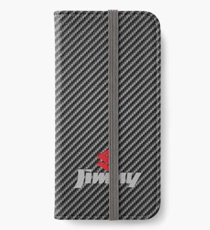 Suzuki Jimny Carbon Fibre iPhone Wallet/Case/Skin