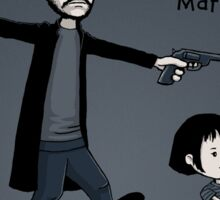 Leon and Mathilda - STICKER Sticker