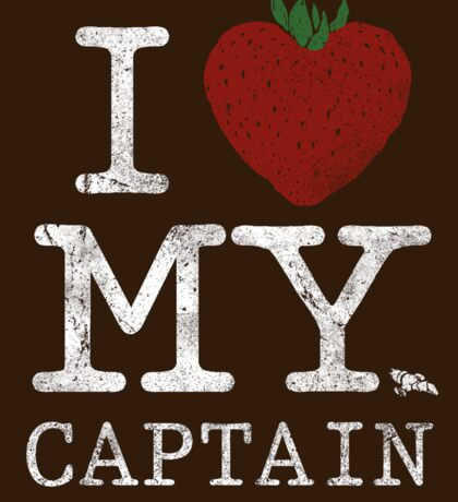 I Love My Captain - STICKER Sticker