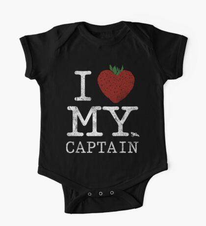 I Love My Captain Kids Clothes