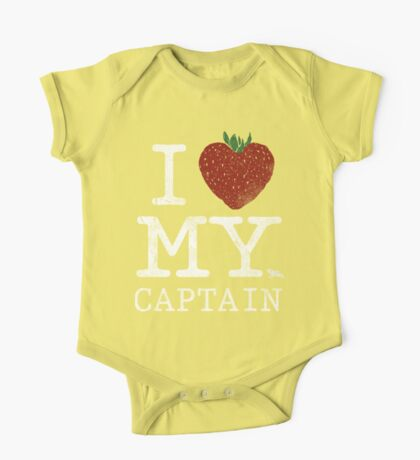 I Love My Captain Kids Clothes