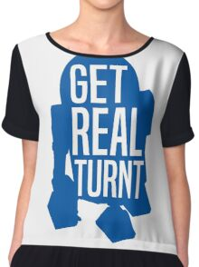 R2D2 - Get Real Turnt Chiffon Top