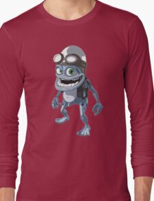 Funny Crazy Frog Long Sleeve T-Shirt