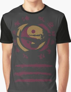 Jeet Kune Do Enter The Dragon - Kung Fu Emblem & Silhouette Graphic T-Shirt