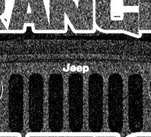Jeep Wrangler Nation Sticker