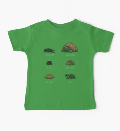 Know Your Turtles Baby Tee