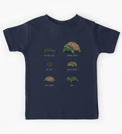 Know Your Turtles Kids Tee