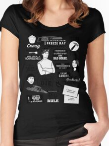 Horrible Quotes Women's Fitted Scoop T-Shirt