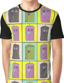 TIMEY WIMEY WARHOL TARDIS 1 Graphic T-Shirt