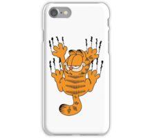 Funny Garfield Scratching iPhone Case/Skin