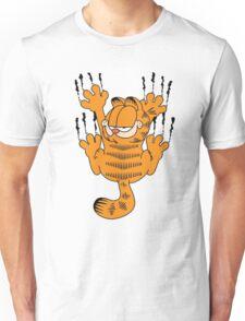 Funny Garfield Scratching Unisex T-Shirt