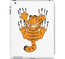 Funny Garfield Scratching iPad Case/Skin