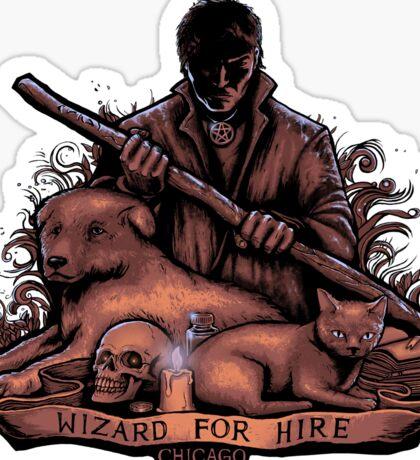Wizard For Hire - STICKER Sticker
