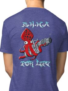 Squid Hunters WA For Life Tri-blend T-Shirt