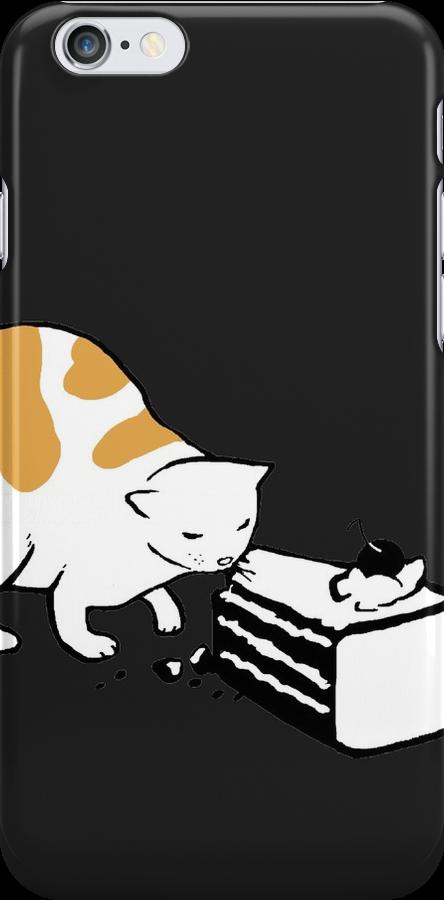 Science Cat STICKER by tyna