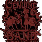Genuine Band STICKER by tyna