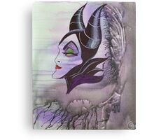 Maleficent Canvas Print