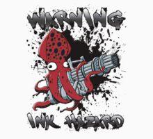 Squid Hunters Ink Hazard O-Negative Baby Tee