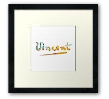 Vincent - The Bedroom Framed Print