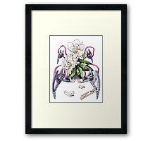 Cortaderia Laevis Framed Print
