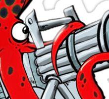 Major Kraken Squid on his own Sticker