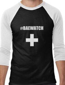 "Lifeguarding Baywatch Parody ""Baewatch"" Men's Baseball ¾ T-Shirt"