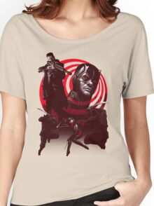 Devil In The Line Of Fire - Alternate Women's Relaxed Fit T-Shirt