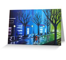 MOODY BLUE CITY Greeting Card