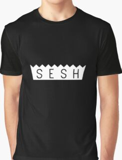 teamsesh white Graphic T-Shirt
