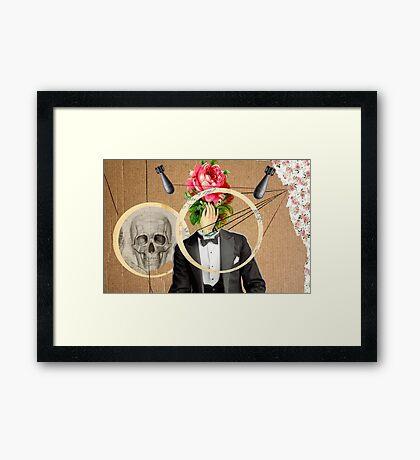 Mr. Flower Framed Print