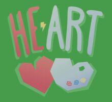 Heart 2 Art One Piece - Short Sleeve