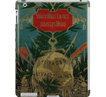 Jules Verne Extraordinary Voyages iPad Case/Skin