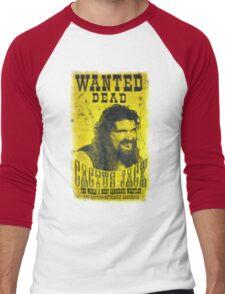 Cactus Jack Poster Men's Baseball ¾ T-Shirt