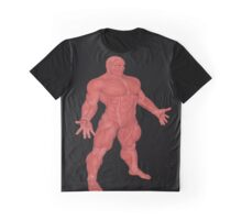 the Muscle Man Medical Model Graphic T-Shirt