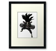 hashirama senju Framed Print