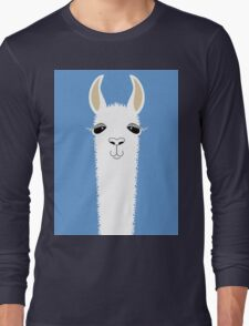 LLAMA PORTRAIT #4 Long Sleeve T-Shirt
