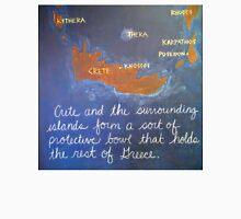 Crete and Surrounding Islands Unisex T-Shirt