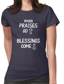 Blessings  Womens Fitted T-Shirt