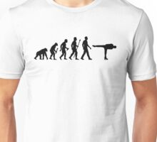 Funny Figure Skating  Evolution Unisex T-Shirt