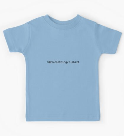 /dev/clothing/t-shirt Kids Tee