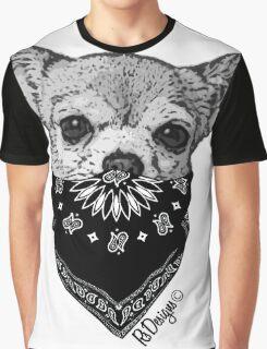 Animal Bandit - Chihuahua Graphic T-Shirt