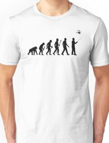 Evolution of Man RC Chopper Unisex T-Shirt