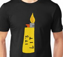 IT'S LIT (yellow) Unisex T-Shirt
